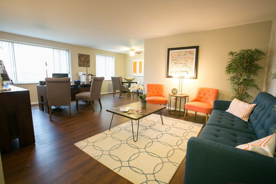 Luxury apartments at Deville Apartments in Beachwood
