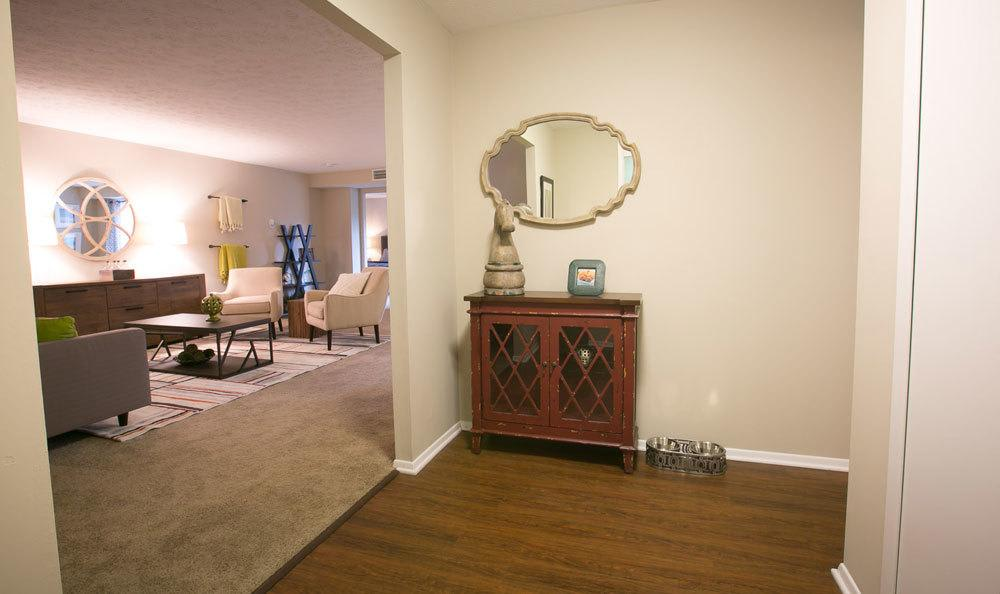 Spacious floor plans at Deville Apartments in Beachwood