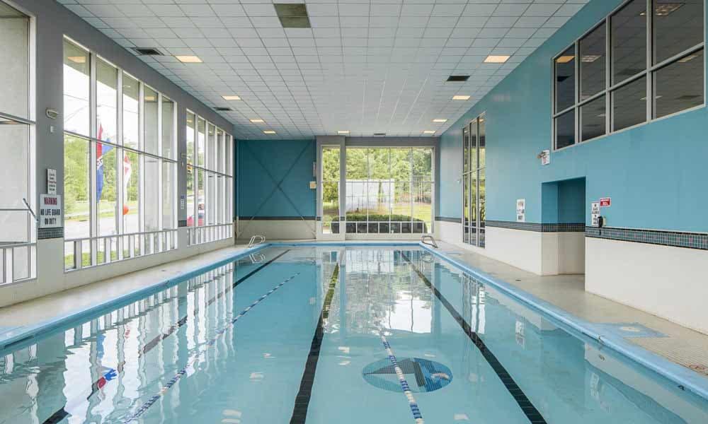 Lap pool at Lakeshore Drive