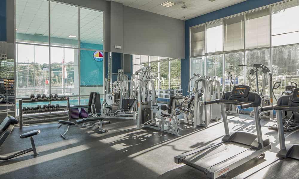 Lakeshore Drive's fitness center