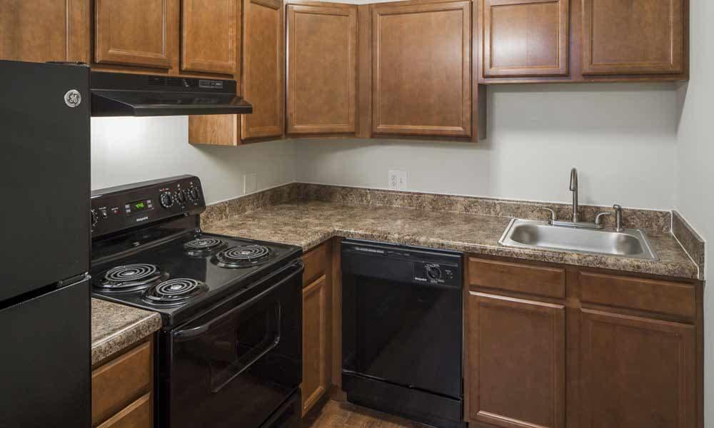Kitchen at Lakeshore Drive