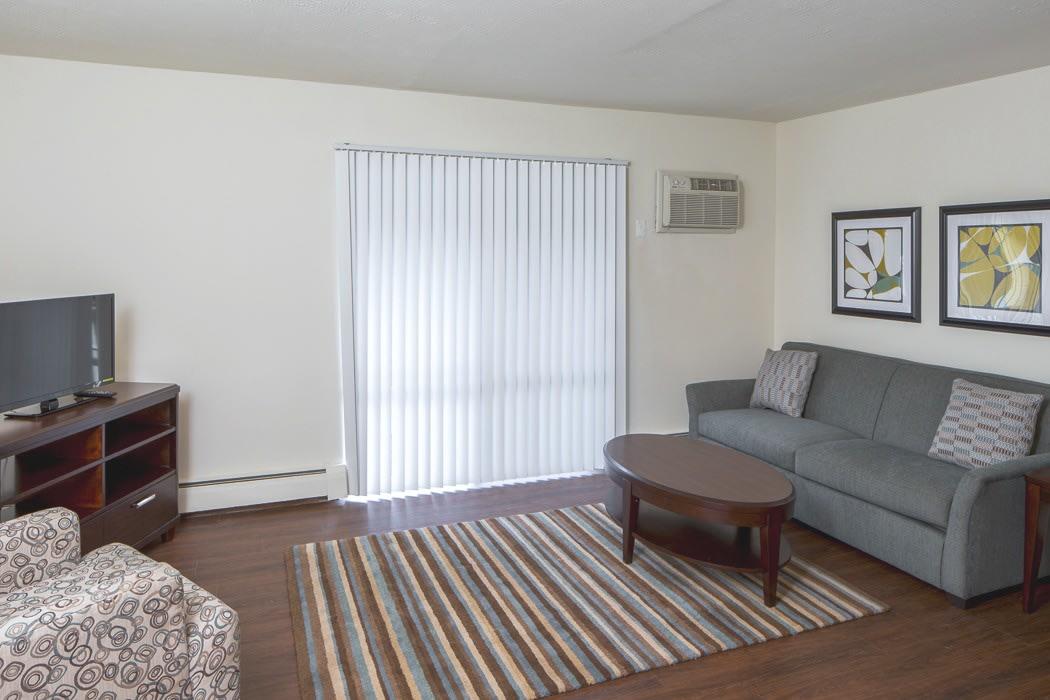 Living room at Lakeshore Drive
