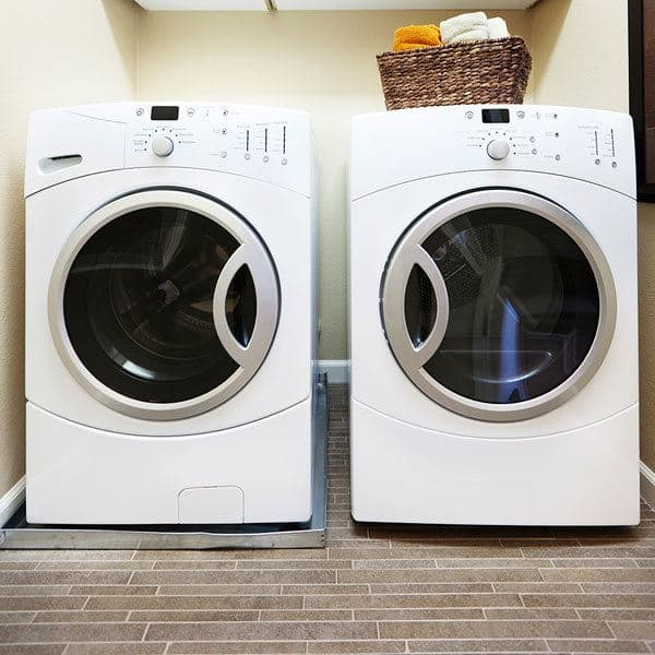 Laundry room at Reserve at Southpointe in Canonsburg