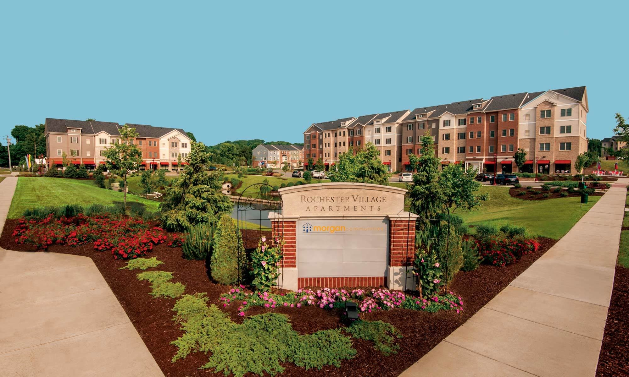 Rochester Village Apartments At Park Place In Cranberry