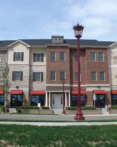 Great neighborhood at Rochester Village Apartments at Park Place in Cranberry Township, PA