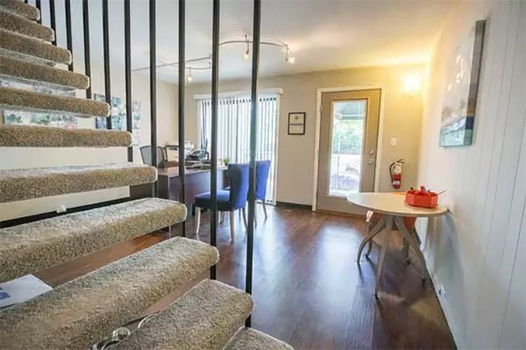 Open floor plans available at Whitewood Apartments