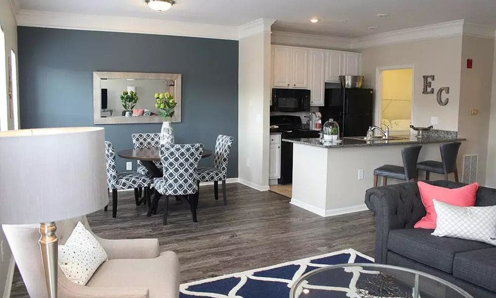 Beautifully designed floor plans at Easton Commons