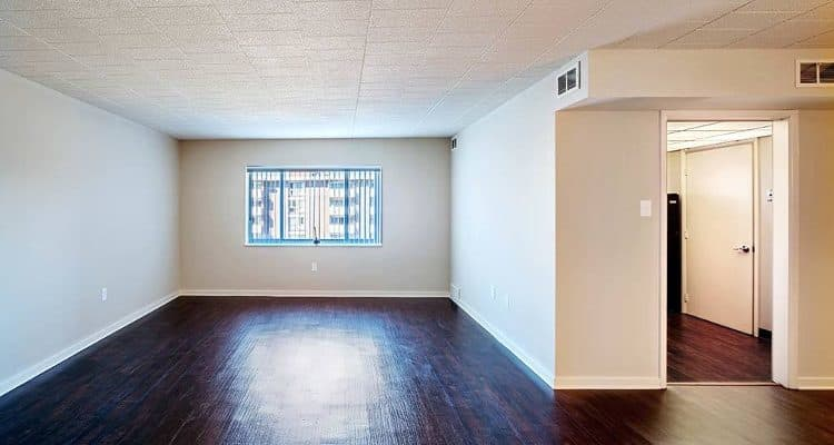 Hardwood floors at Avalon Arms Apartments