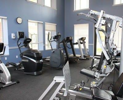 Fitness center at Morgan at North Shore in Pittsburgh, PA