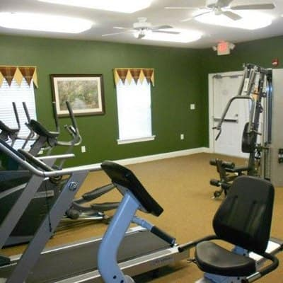 Fitness center at Cannon Mills in Dover, DE