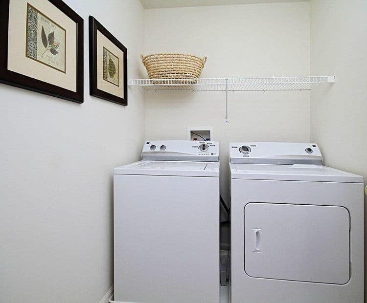 Laundry room at Lion's Gate Townhomes