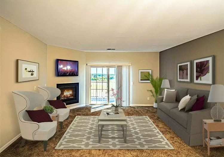 Living room at Reserve at Southpointe in Canonsburg, PA