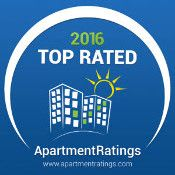 Perry's Crossing Apartments received an award as one of the top-rated apartments in 2016