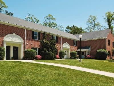 Apartment building at The Village of Laurel Ridge in Harrisburg, PA