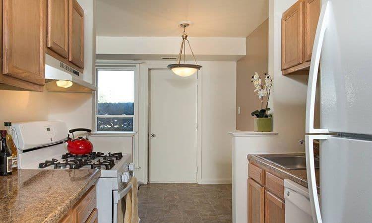Beautiful kitchen at Hillcrest Village in Niskayuna, NY