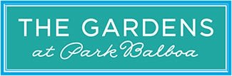 Logo for The Gardens at Park Balboa