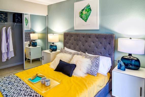Spacious bedroom at Sofi at Somerset in Bellevue, WA