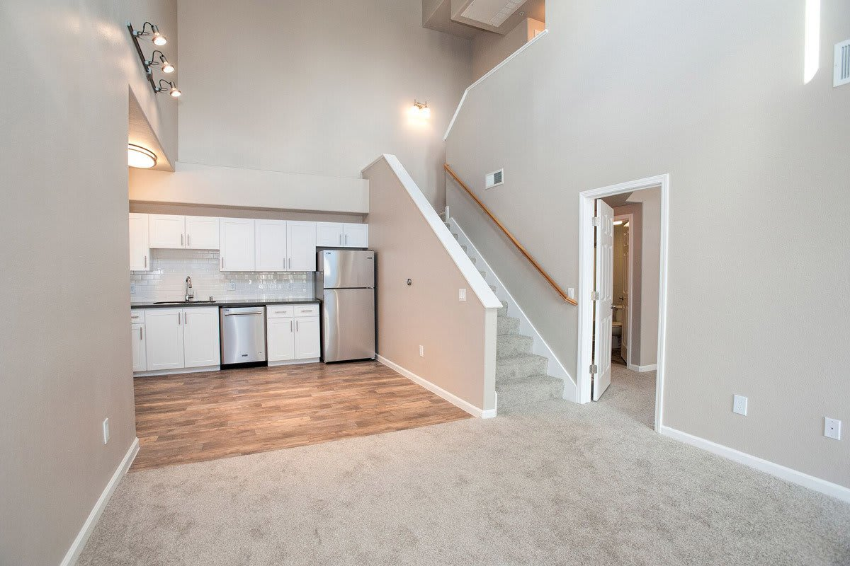 Two story condominium rental at Venu in Roseville, CA