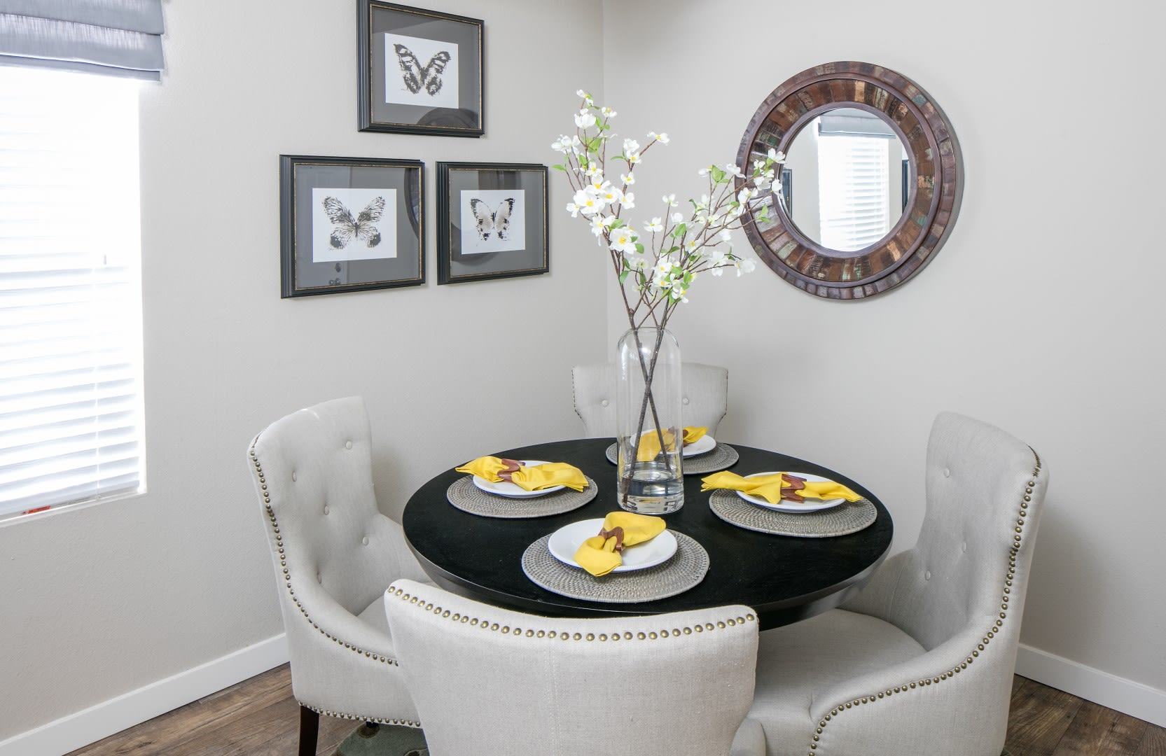 Two story apartment townhome at The Carriages at Fairwood Downs, Renton, WA