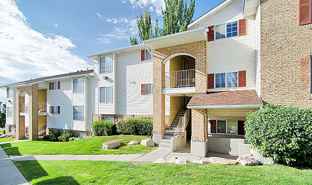 Our beautiful apartments at Cherry Lane Apartment Homes In Bountiful Utah
