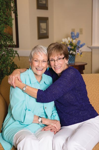 Residents at Palos Verdes Senior Living