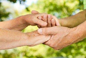 Holding hands in Draper