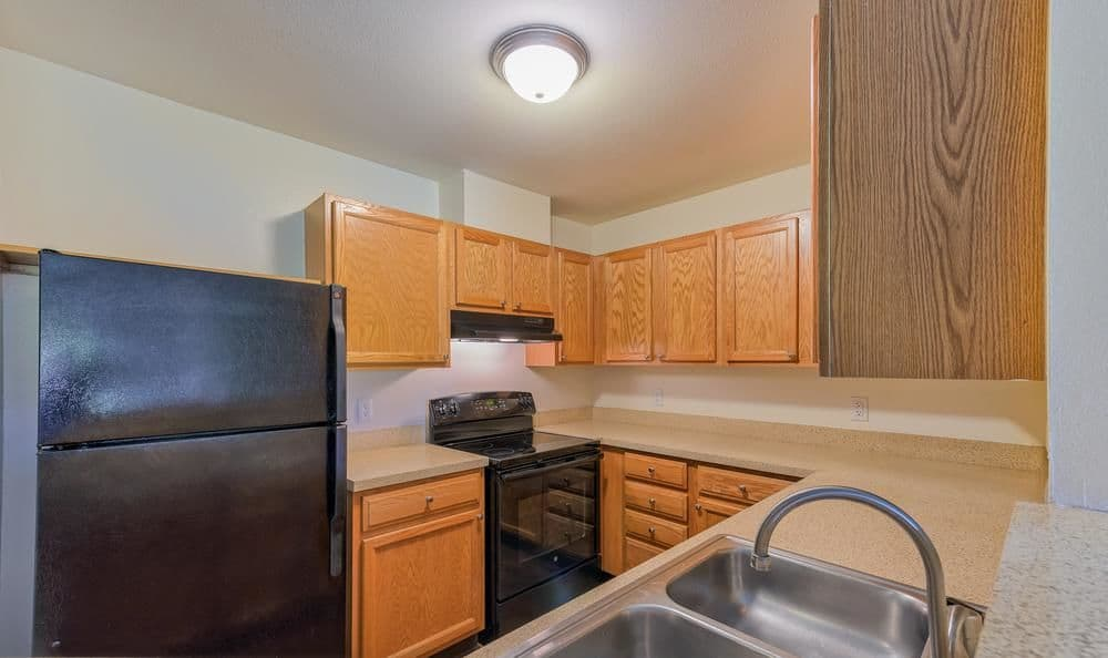 Beautiful kitchen at Columbia Commons in Columbia, Maryland