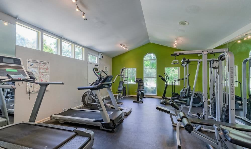 Columbia Commons offers a fitness center in Columbia, Maryland
