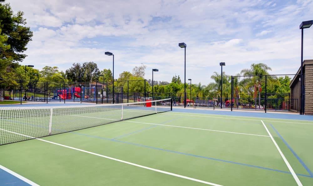 Presidio at Rancho Del Oro offers a tennis court in Oceanside, California
