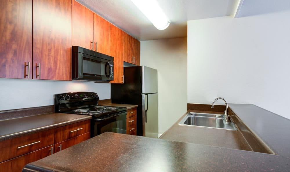 Beautiful kitchen at Presidio at Rancho Del Oro in Oceanside, California