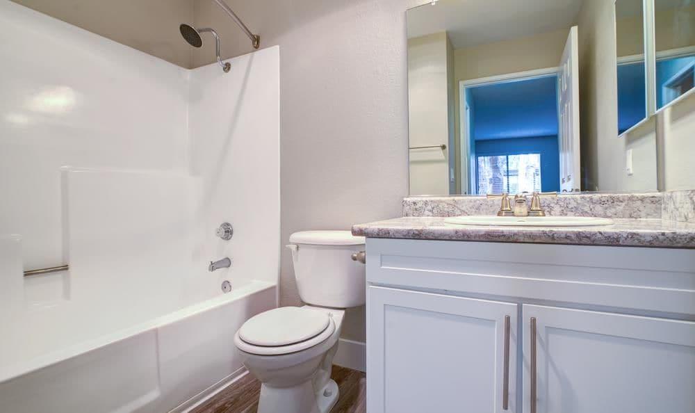 Beautiful bathroom at Presidio at Rancho Del Oro in Oceanside, California