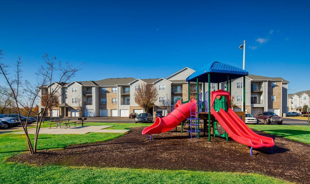 Playground at Crescent at Wolfchase home in Memphis, TN