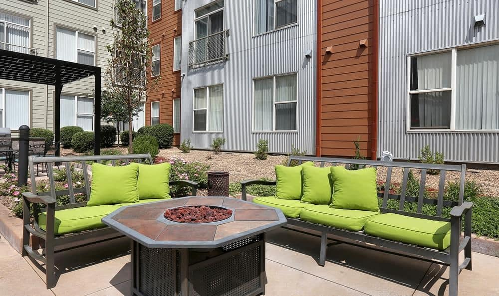 Denver, Colorado apartments with an outdoor fire pit at Colorado
