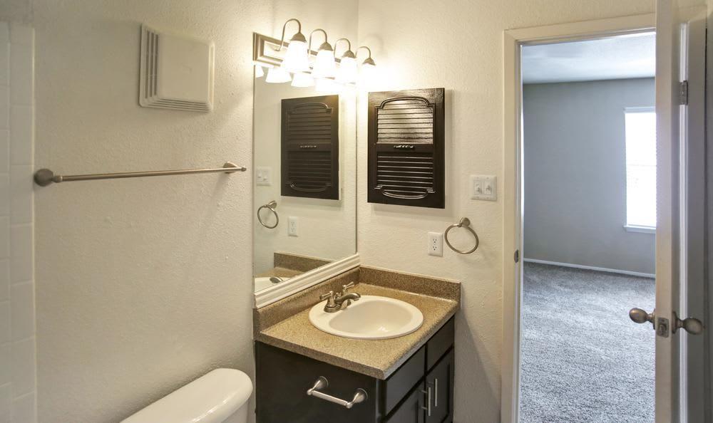 Apartments with a bathroom
