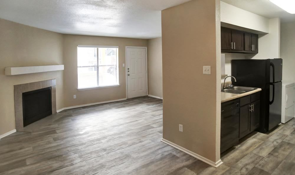 Our apartments in Austin, Texas offer a kitchen