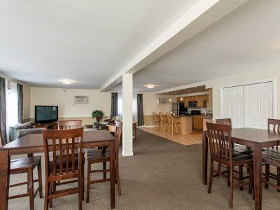 Clubhouse interior at High Acres Apartments and Townhomes in Syracuse, NY