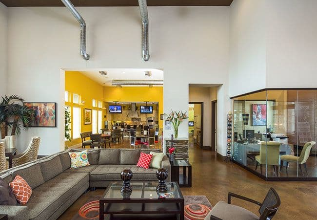 Clubhouse interior at Millennium Towne Center in Baton Rouge, LA