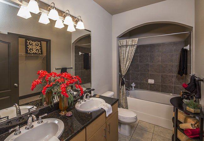 Bathroom at Millennium Towne Center in Baton Rouge, LA