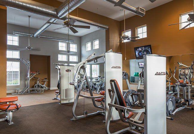 Fitness center at Millennium Towne Center in Baton Rouge, LA