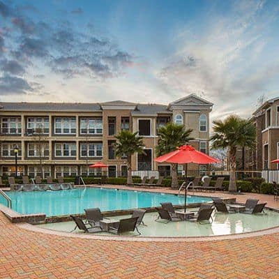 Swimming pool at Millennium Towne Center in Baton Rouge, LA