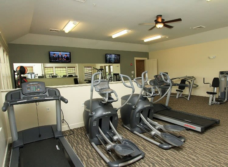 Preserve at Autumn Ridge fitness center situated in Watertown, New York