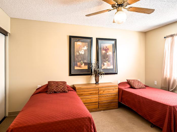 Shared Bedrooms at Sierra Vista Independent and Assisted Living in Victorville, CA