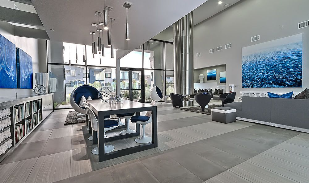 Luxurious common area at Dream Apartments in Henderson