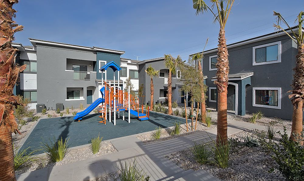 On-site playground at Dream Apartments in Henderson