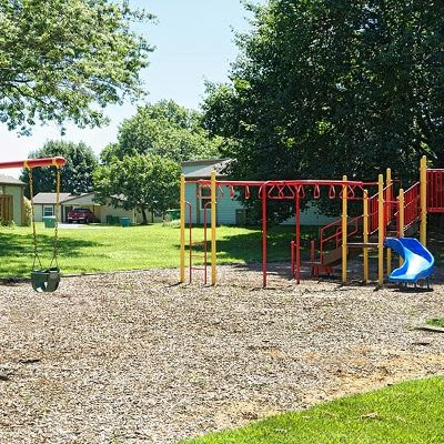 Playground in our community at Eagle Meadows Apartments in Dover, Delaware