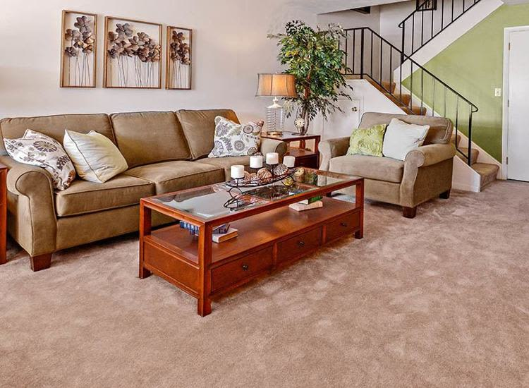 Unique living room at apartments & townhomes in York, Pennsylvania