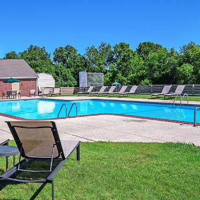 Refreshing swimming pool at The Reserve at Copper Chase in York, PA