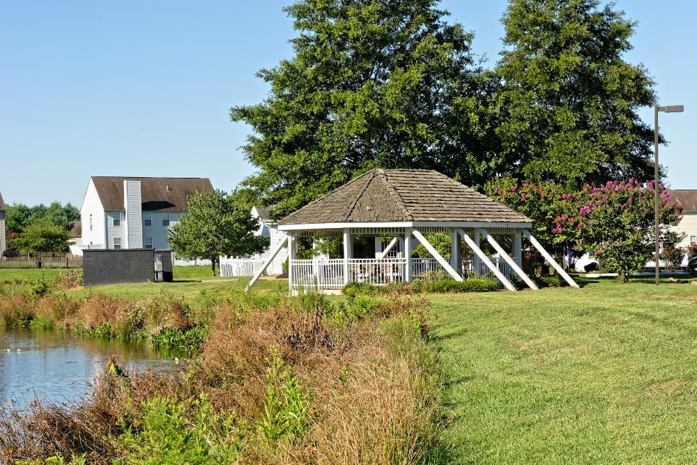 Gazebo at Village of Westover in Dover, DE