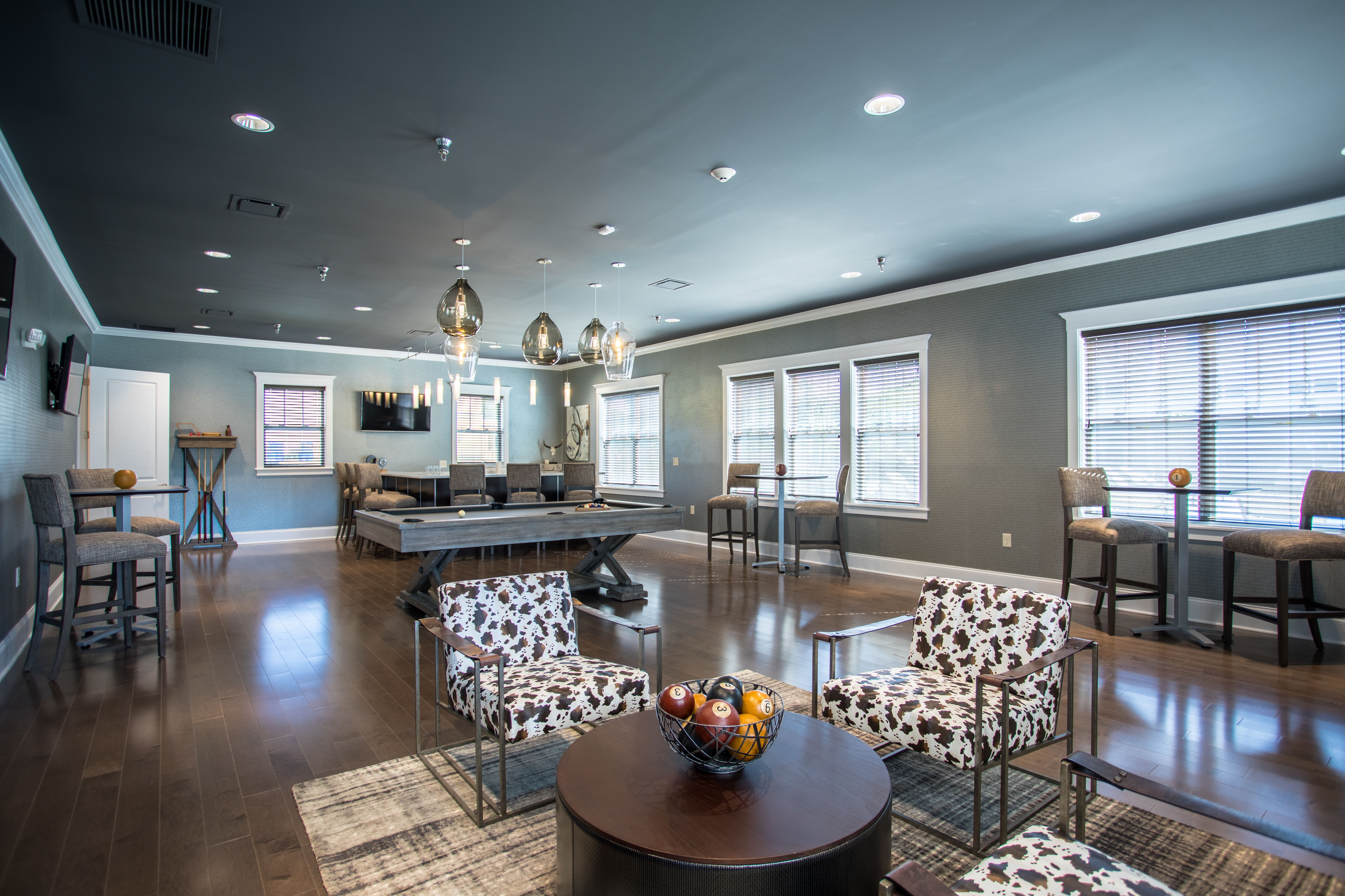 The Landings at Meadowood offers a beautiful clubhouse in Baldwinsville, New York