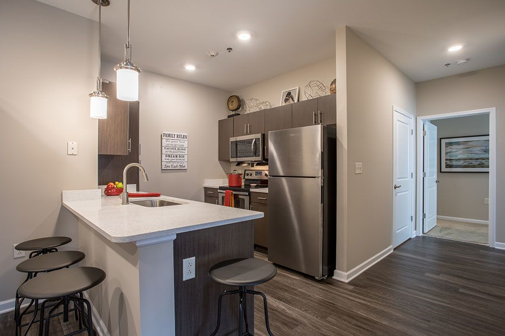 Kitchen at The Landings at Meadowood in Baldwinsville, New York